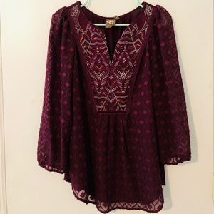 One September (anthropologie) Blouse